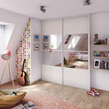 deco porte placard chambre chambre ado lumineuse ideedeco portemiroir chambreenfant