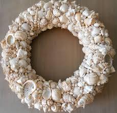 coastal wreath beach wreath seashell wreath shell wreath