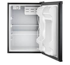 Small Under Desk Refrigerator Frigidaire 2 4 Cu Ft Compact Refrigerator Black Ffpe2411qb