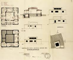 Bauhaus Floor Plan Bauhaus Architecture Application For A Building Permit For The