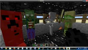 Mine Craft Halloween by Halloween Texture Pack For 1 4