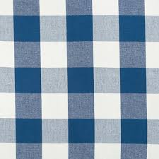Navy Blue Plaid Curtains Navy Blue Plaid Upholstery Fabric By The Yard Large Scale Plaid