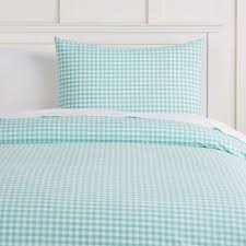 Red Gingham Duvet Cover Classic Gingham Duvet Cover Sham Pbteen