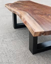 live edge walnut coffee table live edge walnut coffee table steel base nakashims style live edge