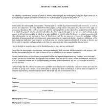 contract release form property release form photography services
