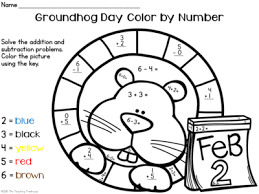 addition color by number addition and subtraction free math