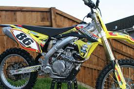 new 2015 motocross bikes suzuki rmz 450 2015 30 hours from new mx motocross bike 450 four