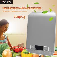 balance de cuisine 10 kg yieryi cuisine balance électronique 10 kg 1g lcd numérique