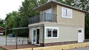 tiny home modern 2 floors with balcony micro home design ideas