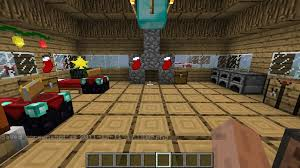 christmas house with christmascraft mod minecraft project