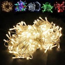100 led 32ft string lights green wire adjustable multi setting