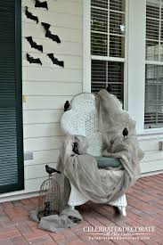 Home Decorators Promo Code 2015 Halloween Front Porch Decoration With Black Crows
