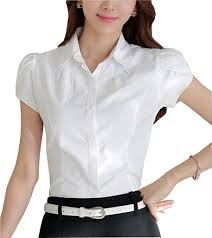 sleeve white blouse 1940s style blouses tops shirts