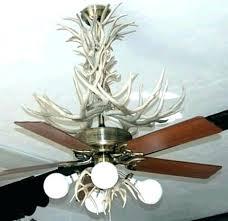 Deer Antler Ceiling Fan Light Kit Light Deer Antler Ceiling Light