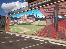crosley field brought back to life on city gospel site wvxu this 17 x 50 mural depicting crosley field in the 1950s was painted by keep cincinnati beautiful