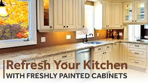 Updating Existing Kitchen Cabinets Refresh Your Kitchen With Freshly Painted Cabinets