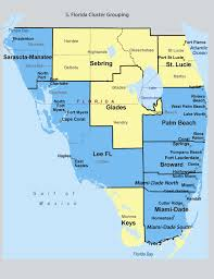 Map Of South Florida by