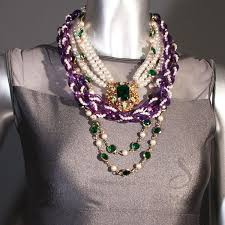 purple fashion jewelry necklace images Shop hand made costume jewelry necklaces sumaris new york jpg