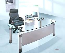 glass table top protector office desk top covers inspiring l shaped glass desk office making