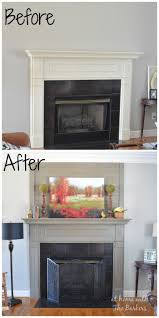homemade fireplace mantel binhminh decoration