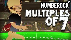 Counting By 7s Song 7 Times Table Song Rap Skip Counting By 7 Multiplication Song