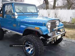 jeep scrambler blue 1983 jeep scrambler custom 2 door 360 v 8