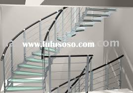 Glass Stair Rail by Metal Handrail For Steps Outdoor Concrete Steps Ideas With Iron