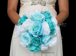 wedding flowers blue wedding flowers with turquoise dresses vineeta s turquoise and