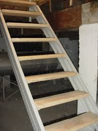 2 Step Stair Stringer by Photo Gallery Of Fast Stairs Com Stair Stringers
