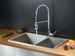 Stainless Steel Faucet Hole Cover Undermount Kitchen Sinks At Home Depot Stainless Steel Sink