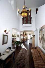 Fabulous Hallways Interior And Exterior Design Of Kenny Chesneys - Mediterranean home interior design