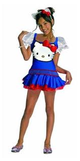Size Kitty Halloween Costume Kitty Pink Hair Costume Halloween Costume