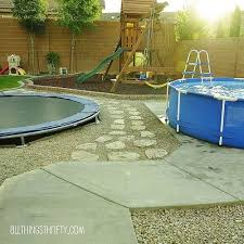 Concrete Ideas For Backyard Best 25 Kid Friendly Backyard Ideas On Pinterest Garden Ideas