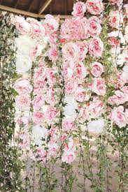 wedding backdrop of flowers the 2015 wedding trend 22 flower wall backdrops