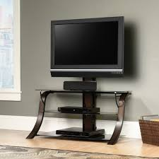Desk With Tv Stand by Sauder Select Veer Tv Stand With Mount 413906 Sauder