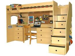 bunk bed desk full size of metal bunk bed with desk underneath