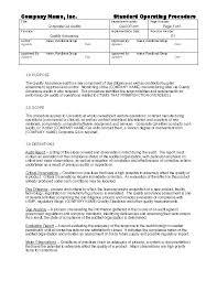 gmp audit report template corporate qa audits gmpdocs