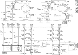 2006 chevy trailblazer speaker wiring diagram wiring diagram and