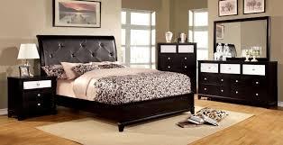 bedroom captivating belcourt black 5 pc queen platform bedroom