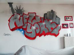 deco new york chambre ado decor chambre deco graffiti 11 montpellier montpellier