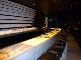 Onyx Countertop Backlit Onyx Countertops For Bar Receptions Onyx Marble Crafts