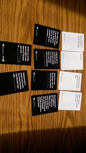 cards against humanity reject pack pack cards against humanity database