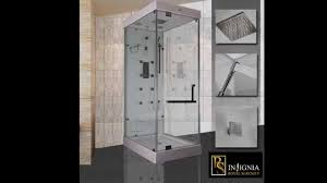 insignia rs100 steam shower cabin youtube