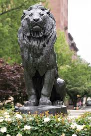 barye lion sculpture seated lion by antoine louis barye meanderings abound