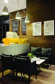 Interior Of Clean And Modern Cafe With Home Style Design Home - Modern cafe interior design