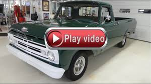 Old Ford Unibody Truck - 1962 ford f 150 pickup truck manual unibody youtube