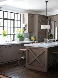 kitchen lighting ideas over sink contemporary island gray wall