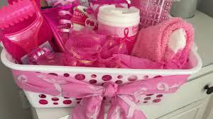 cancer gift baskets dollar tree gift basket breast cancer