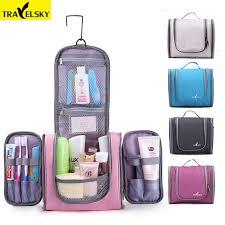 travel cases images Travelsky family travel organizer bag hanging toilet makeup bag jpg