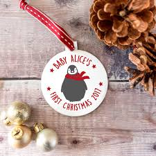 1st Christmas Decorations Baby U0027s First Christmas My 1st Christmas Notonthehighstreet Com